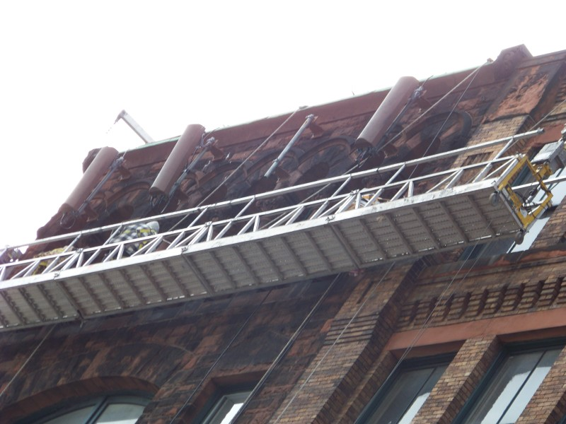 New England Scaffolding Suspended Scaffold Services